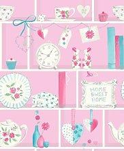 Keepsake Sugar Pink - M0759 - Bookshelf - Shabby