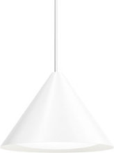 Keglen LED Pendant - / Ø 40 cm - Aluminium by
