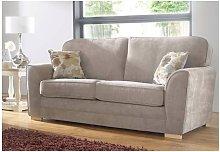 Keira 3 Seater Sofa Taupe Fabric