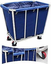 KEKEYANG Storage Trolley On Wheels Blue Heavy Duty