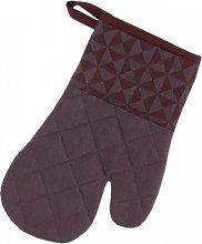 Kela 12287 Oven mitt Bordeaux potholder/Oven Glove