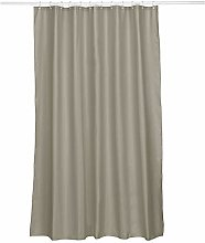 kela Laguna Shower Curtain Polyester Taupe 180 x
