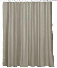 kela Laguna Shower Curtain Polyester Taupe 240 x