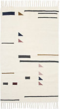 Kelim Triangles Rug - Small - 80 x 140 cm by Ferm