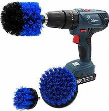 Keliour Drill Brushes Drill Brush Attachment Set 3