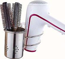 Keliour Hair Dryer Holders Stainless Steel Wall