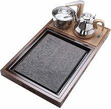 Keliour Tea Tray Professional Triple Table-Top Tea