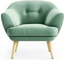 Kellen Tub Chair Hykkon Upholstery: Light green
