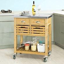Kelloch Kitchen Cart Brambly Cottage