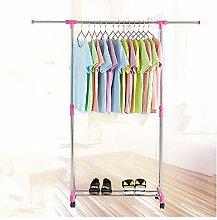 KELUNIS Simple Folding Clothes Hanger Rack,