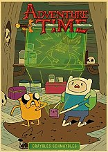 Kemeinuo Art Print Adventure Time with Finn and