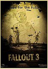 Kemeinuo Art Print Fallout 2 3 4 Game Poster