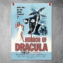 Kemeinuo Art Print Horror of Dracula Wall Art