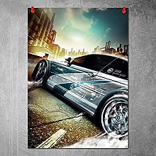 Kemeinuo Art Print Need for Speed Most Wanted Wall