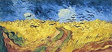 Kemeinuo Art Print Wheatfield with Crows Canvas