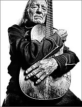 Kemeinuo Art Print Willie Nelson with trigge Art