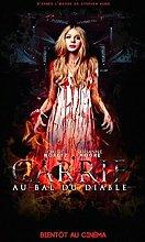Kemeinuo Wall Art Carrie Horror Movie Art Film
