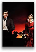 Kemeinuo Wall Art Gone with the Wind Vintage Movie
