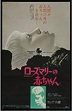 Kemeinuo Wall Art Rosemary's Baby Movie Poster