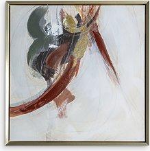 Kenbu Abstract - Framed Canvas Print, 74 x 74cm,