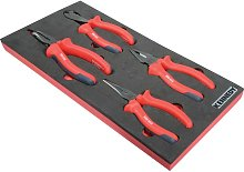 Kennedy 4 Piece Pro-torq VDE Insulated Pliers Set