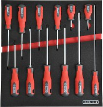 Kennedy-Pro 12 Piece Pro-torq Screwdriver Sets in