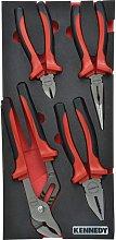 Kennedy-Pro 4 Piece Pro-torq Comfort Grip Pliers
