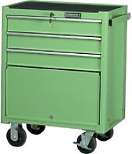Kennedy-Pro Green 3-Drawer Professional Roller