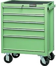 Kennedy-Pro Green 5-Drawer Professional Roller
