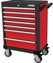 Kennedy-Pro RED-28' 7 Drawer Professional