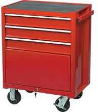 Kennedy-Pro Red 3-Drawer Professional Roller