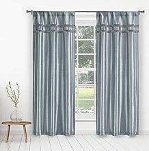 Kensie Curtain Set, Blue, 38x84