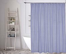 Kensie shower curtain, Navy, 72x72