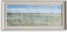 Kentish Fields - Framed Print, 54.5 x 114.5cm,