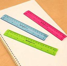 Kentop Plastic Ruler Straight Ruler Measuring Tool