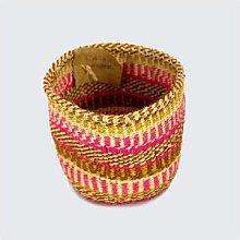 Kenya - Sisal Basket Pink Hues No 215