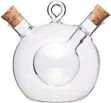 Kerasia - Bubble Oil & Vinegar Bottle - Glass