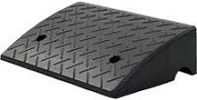 Kerb Ramp Rubber 50x32.5x14 cm - Black - Vidaxl