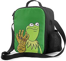 Kermit As Thanos Lunch Box with Padded Insulated