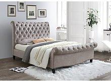 Kerns Upholstered Bed Frame Canora Grey Colour: