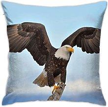 KEROTA Bald Eagle with Wings Spread Decorative