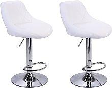 kerryshop bar chair 2pcs Adjustable Bar Chairs