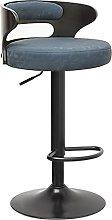 kerryshop bar chair Matte PU Leather Living Room