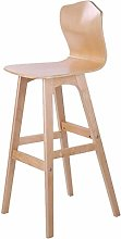 kerryshop bar chair Solid Wood Bar Chair with