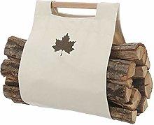 kerryshop Firewood rack Canvas Log Handbag Tote
