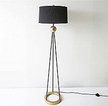kerryshop Floor Lamp Tripod Floor Lamp, Mid