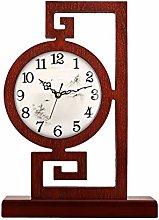 kerryshop Table Clocks Chinese Style Desk Clock