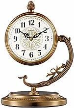kerryshop Table Clocks Desk Clock Living Room Home