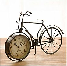 kerryshop Table Clocks Desktop Retro Desk Clock