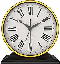 kerryshop Table Clocks European Metal Table Clock